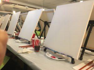 paint nite canvas